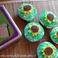 Muffins decorati con fondant