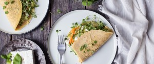 Lindsey's Chickpea Omelet