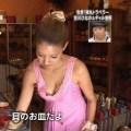 【放送事故画像】最高なカメラアングルから映ったオッパイ最高ww