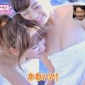 【放送事故画像】バスタオルの巻き方が余計エロく見えちゃう女子アナやアイドルの入浴シーンww