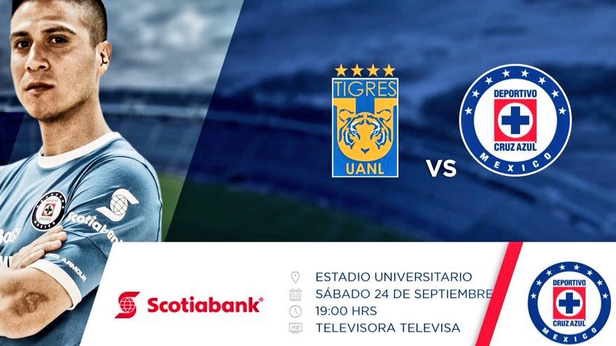 Tigres vs Cruz Azul en Vivo TDN Liga MX 2016
