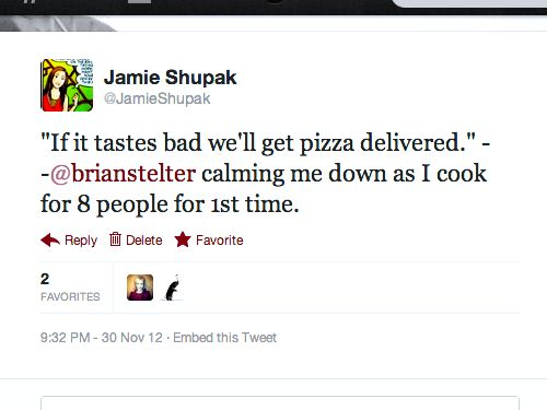 jamie pizza tweet