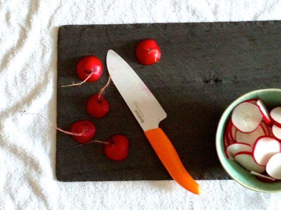 radish sliced