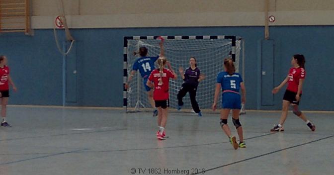 Handball  Weibliche Jugend C für BOL 2016/17 qualifiziert.