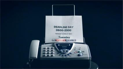 Sky Sports News HQ Promo - Transfer Deadline Day 2015 - Fax Machine (11)