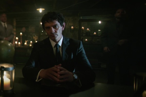 James Frain as Rutledge on Sleepy Hollow