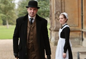Mr. Bates and Anna on Downton Abbey