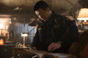 "Sgt. Drew Wu in photo from the Grimm on NBC episode ""Death Do Us"""