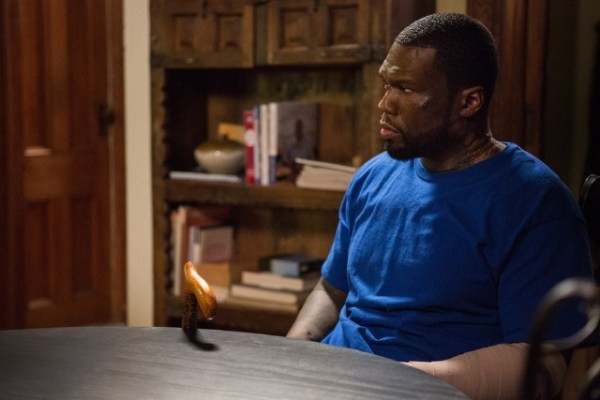 50 Cent's character Kanan is a burn victim on Power