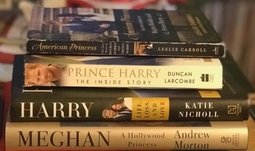 Prince Harry Meghan Markle books