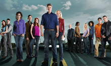 The cast of Drive on FOX