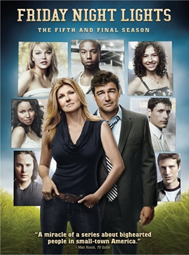 Friday Night Lights last season on dvd