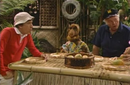 ALF with Gilligan and Skipper