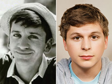 Bob Denver and Michael Cera