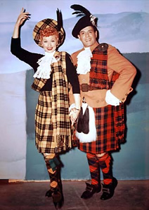 I Love Lucy in color