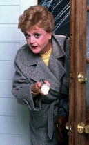 Angela Lansbury as Jessica Fletcher on Murder, She Wrote
