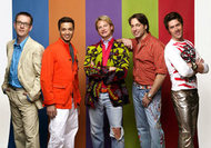 The Fab Five on Queer Eye for the Straight Guy