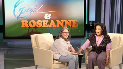 Roseanne on Oprah