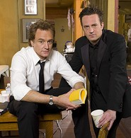 Matthew Perry and Bradley Whitford in Studio 60 on the Sunset Strip