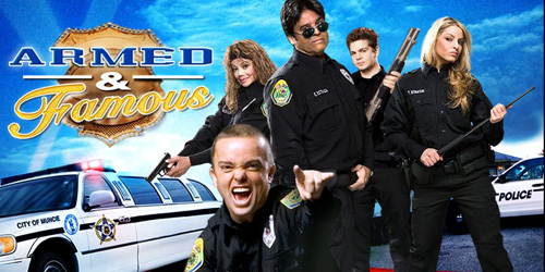 armed and famous tv show