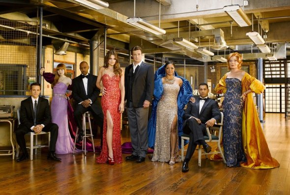 Castle TV show on ABC: canceled, no season 9
