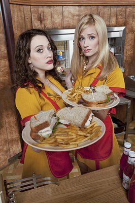 2 Broke Girls TV series