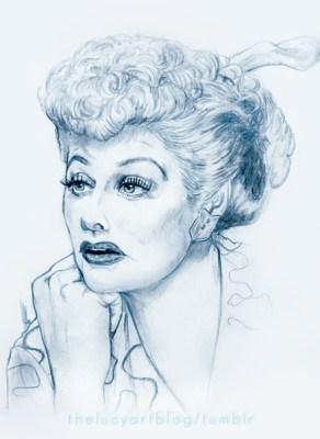 I Love Lucy art