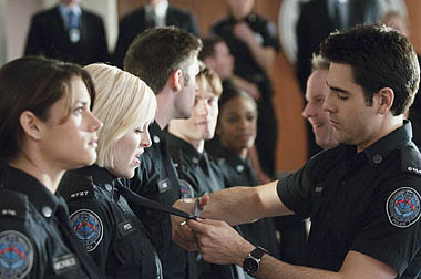 season three of Rookie Blue