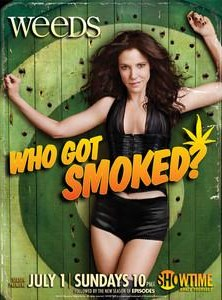 Weeds on Showtime ratings