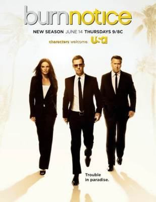ratings for Burn Notice on USA