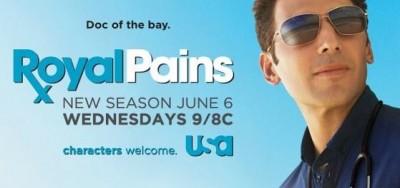season four ratings for Royal Pains on USA