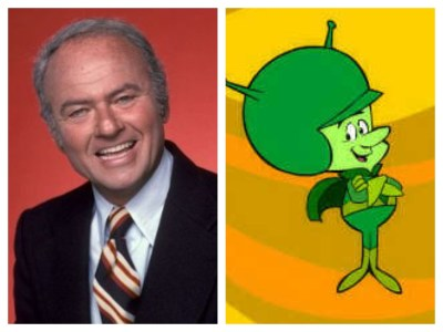 Harvey Korman as The Great Gazoo on Flintstones