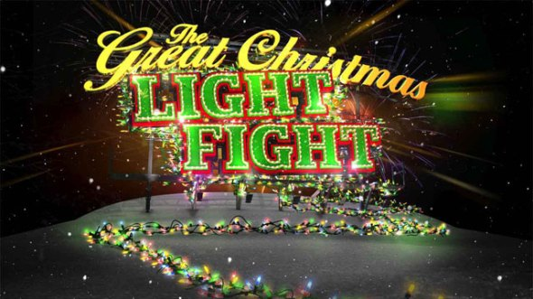 great christmas light fight tv show