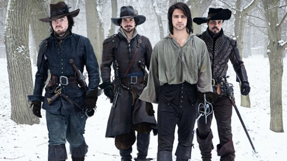 The Musketeers TV show