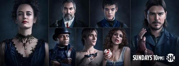 Penny Dreadful TV show ratings