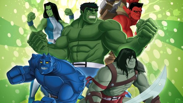 Marvel's Hulk and the Agents of S.M.A.S.H. season 2 on Disney XD