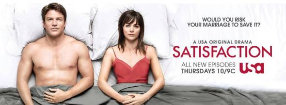 Satisfaction TV show on USA Networks: latest ratings