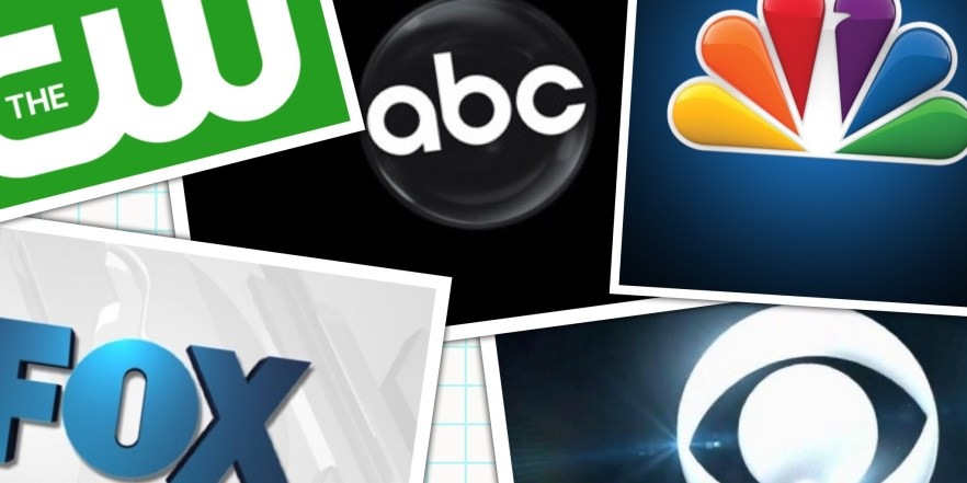 Which network TV shows have the best or worst ratings?