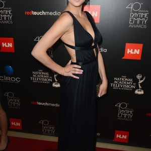 Actress Hunter King (The Young and the Restless) attends The 40th Annual Daytime Emmy Awards at The Beverly Hilton Hotel on June 16, 2013 in Beverly Hills, California. - Source: Mark Davis/Getty Images North America