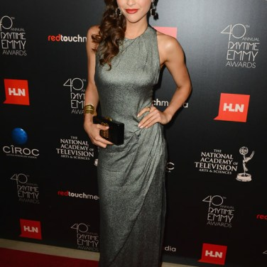 Actress Lindsey Morgan (General Hospital) attends The 40th Annual Daytime Emmy Awards at The Beverly Hilton Hotel on June 16, 2013 in Beverly Hills, California. - Source: Mark Davis/Getty Images North America