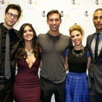 Pictured: Days of our Lives stars Casey Deidrick, Camila Banus, Blake Berris, Kate Mansi and Nathan Owens | Photo Credit: Courtney Berman