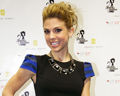 Kate Mansi poses for photos during her K2O event. Photo Credit: Courtney Berman