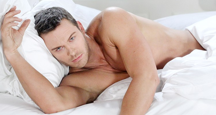 "Eric Martsolf -- ""Days of our Lives"" Set -- NBC Studios 