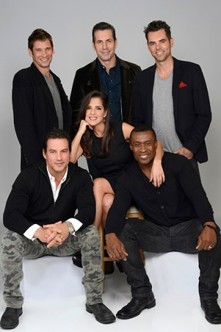 GENERAL HOSPITAL - TYLER CHRISTOPHER, ROGER HOWARTH, FRANK VALENTINI (EXEC. PRODUCER), KELLY MONACO, JASON THOMPSON, SEAN BLAKEMORE (ABC/ Ida Mae Astute)