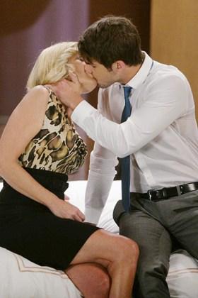 Ava (Maura West) falls under Morgan's (Bryan Craig) Corinthos charm! Photo courtesy ABC