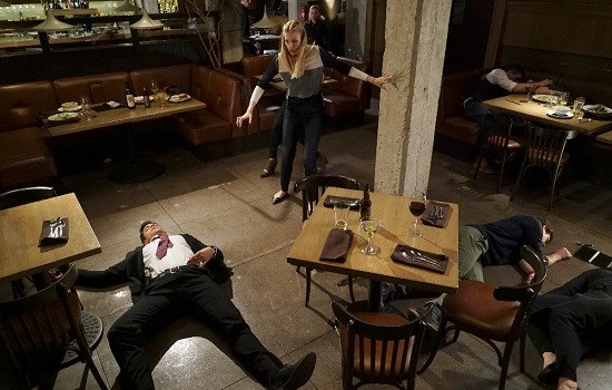 "STITCHERS - ""Full Stop"" - A shooting leaves Detective Fisher in ICU, and Kirsten on the hunt for the cause in the summer finale of ""Stitchers,"" airing Tuesday, August 4, 2015 at 9:00PM ET/PT on ABC Family. (ABC Family/Eric McCandless) DAMON DAYOUB, EMMA ISHTA, KYLE HARRIS"