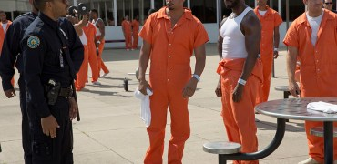 EMPIRE: Pictured L-R: Guest star Ludacris (Chris Bridges) as Officer McKnight and Terrence Howard as Lucious Lyon in the ÒWithout A CountryÓ episode of EMPIRE airing Wednesday, Sept. 30 (9:00-10:00 PM ET/PT) on FOX. ©2015 Fox Broadcasting Co. Cr: Chuck Hodes/FOX.