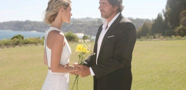 "Linsey Godfrey, Thorsten Kaye ""The Bold and the Beautiful"" Set Malibu Beach House Malibu, Ca. 08/12/15 © sean smith/jpistudios.com 310-657-9661 Episode # 7163 U.S.Airdate 09/14/15"
