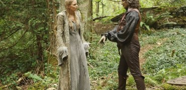 "ONCE UPON A TIME - ""The Dark Swan"" - Immediately after becoming the Dark One, Emma disappears and the heroes must band together to save her, but first they have to find her, which will require the help of an unlikely ally. Meanwhile, in the Enchanted Forest, Emma struggles to resist her dark urges as she searches for Merlin in the hope that he can stop her transformation. Along the way to Camelot, she gets help from the plucky and brave warrior princess Merida, as well as King Arthur and his Knights of the Round Table, in the adventure-filled season five premiere of ""Once Upon a Time,"" SUNDAY, SEPTEMBER 27 (8:00-9:00 p.m., ET) on the ABC Television Network. (ABC/Jack Rowand) JENNIFER MORRISON, ROBERT CARLYLE"