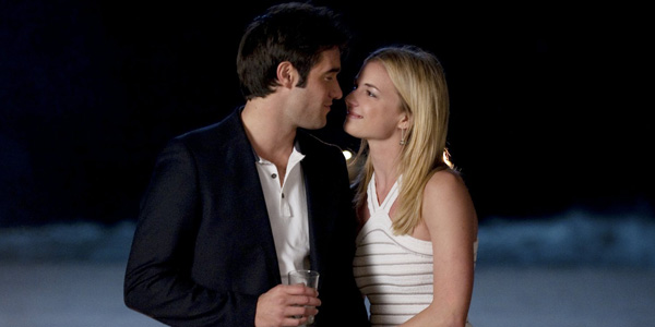 Josh Bowman and Emily Van Camp